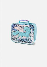 Justice Shaky Unicorn Lunch Tote