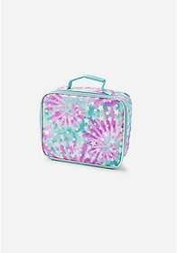 Justice Foil Star Tie Dye Lunch Tote