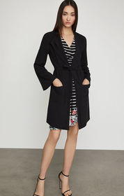 BCBG Draped Front Jacket