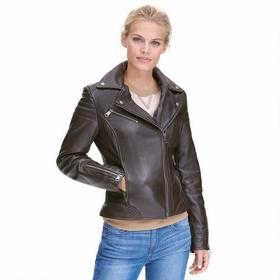 Marc New York Leather Jacket w/ Quilting