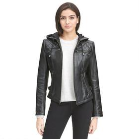 Milwaukee Leather Lamb Cycle Jacket w/ Diamond Qui