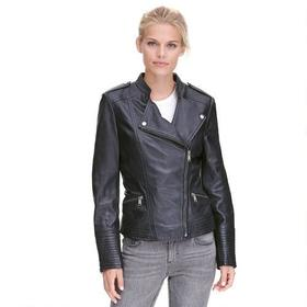 Wilsons Leather Asymmetrical Leather Cycle w/ Snap