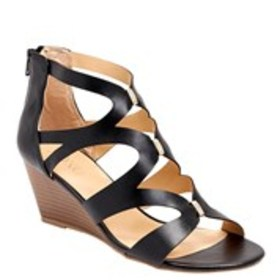 Womens Caged Wedge Gladiator Sandals