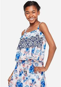 Justice Tiered Ruffle Tank