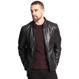 Wilsons Leather Moto-Inspired Genuine Leather Jack