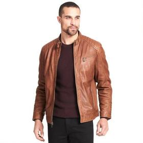 Wilsons Leather Classic Leather Jacket w/ Quilting