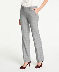The Petite Trouser Pant In Glen Plaid