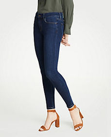 Tall Curvy Performance Stretch Skinny Jeans In Mid