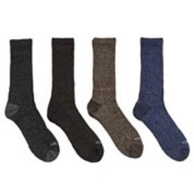 DICKIES Mens All Season 4-Pack Socks