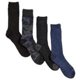 DICKIES Mens All Season 4-Pack Marled Socks