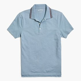 J. Crew Factory factory mens Tipped short-sleeve p