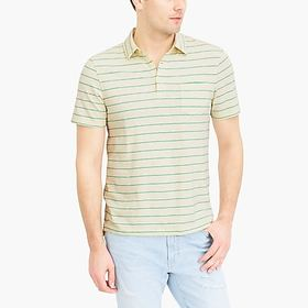 J. Crew Factory factory mens Striped short-sleeve