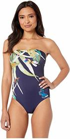 Vince Camuto Lace Back Bandeau One-Piece with Remo