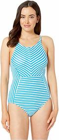 Tommy Bahama Palm Party High Neck One-Piece