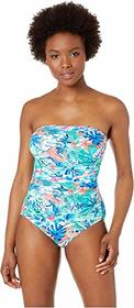 Tommy Bahama Palm Party Bandeau One-Piece