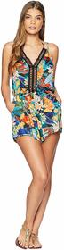 Lucky Brand Malibu Canyon Romper Cover-Up