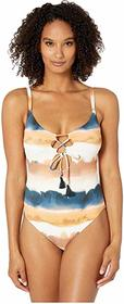 Lucky Brand Sonoma Sky One-Piece Swimsuit