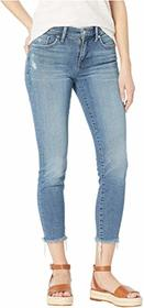 Lucky Brand Ava Crop Jeans in Bear Lake Fray