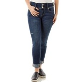 INDIGO REIN Juniors High Waisted Skinny Jeans with