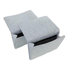 Felt Bedside Caddy 2-pack
