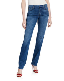 7 For All Mankind Kimmie Straight-Leg Squiggle Jea