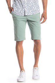Ben Sherman Solid Mid Rise Chino Shorts