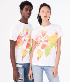 Aeropostale Aero One Earth Graphic Tee