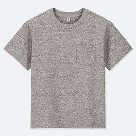 KIDS WASHED CREW NECK SHORT-SLEEVE T-SHIRT