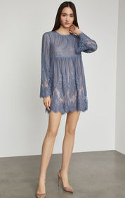 BCBG Luann Floral Lace Dress