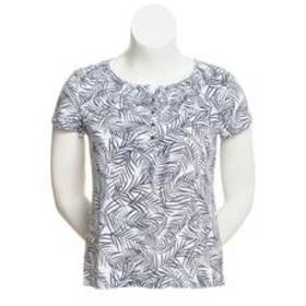 Plus Size Hasting & Smith Short Sleeve Printed Pea