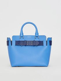 Burberry The Small Leather Belt Bag in Hydrangea B