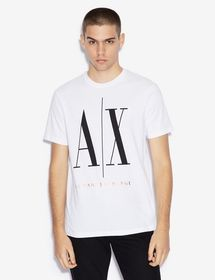 Armani REGULAR FIT ICON TEE WITH GOLD LOGO