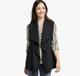 Johnston Murphy Draped Knit Vest