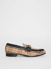 Burberry The 1983 Check Link Loafer in Black