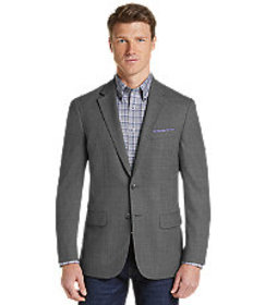 Jos Bank Traveler Collection Slim Fit Woven Patter