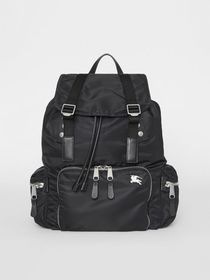 Burberry The Large Rucksack in Aviator Nylon and L