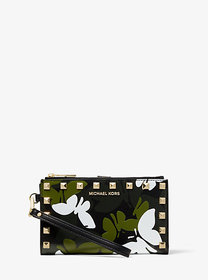 Michael Kors Adele Butterfly Camo Leather Smartpho