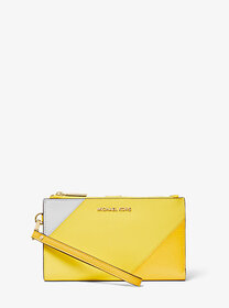 Michael Kors Adele Tri-Color Leather Smartphone Wa