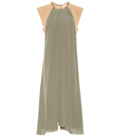 Chloé Silk midi dress