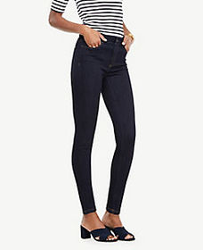Curvy Performance Stretch Skinny Jeans in Evening