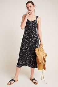 Anthropologie Ria Slip Dress