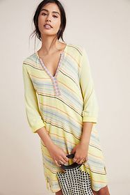 Anthropologie Sunshine Knit Dress