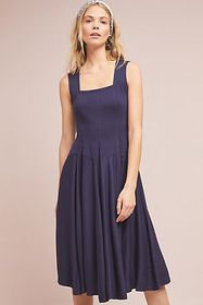 Anthropologie Emile Knit Midi Dress
