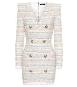 Balmain Bouclé tweed dress