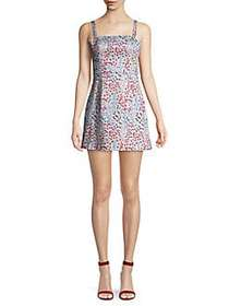 French Connection Floral Mini Fit-&-Flare Dress SA