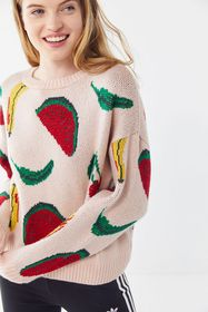 UO Super Sweet Fruity Pullover Sweater
