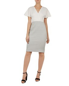 Ted Baker - Working Title Reemadd Color-Block Dres