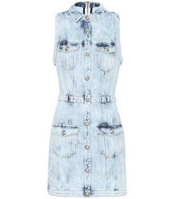 Balmain Denim minidress