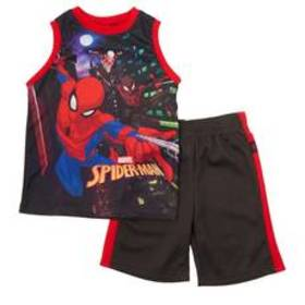 Boys (4-7) Kids with Character 2pc. Spider-Man Sho