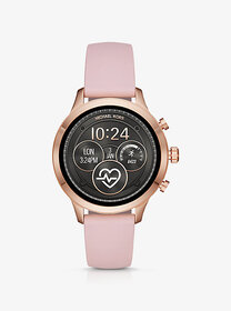 Michael Kors Runway Heart Rate Rose Gold-Tone and